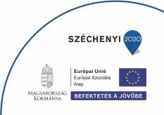 Széchenyi 2020 befektetés a jövőbe pályázat